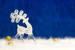 Cervi decorativi nordici Fotografia Stock Libera da Diritti