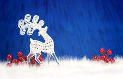 Cervi decorativi nordici Fotografia Stock