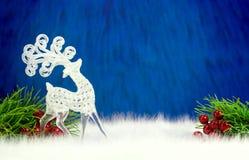 Cervi decorativi nordici Fotografie Stock