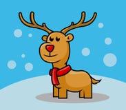 Cervi di Rudolph royalty illustrazione gratis