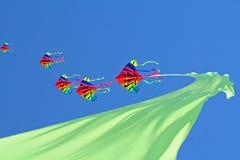 Cervi volanti Fotografia Stock Libera da Diritti