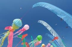 Cervi volanti nel cielo Immagini Stock Libere da Diritti
