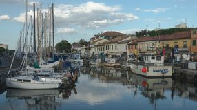 Cervia/ Twilights Royalty Free Stock Image