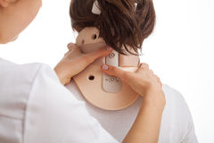 Cervical collar Royalty Free Stock Photos
