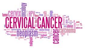 Cervikal cancer vektor illustrationer