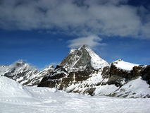 Cervinia Royalty Free Stock Images