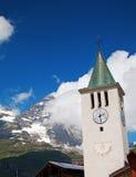 Cervinia, d'Aosta Valle, Италия стоковые фото