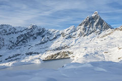 Cervinia  Italy Stock Images