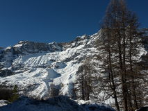 Cervinia Royalty Free Stock Image