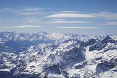 Cervinia place Royalty Free Stock Photos