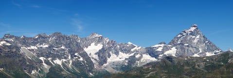 Cervino (Matterhorn) peak Stock Image