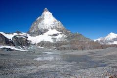 Cervino Suiza imagen de archivo