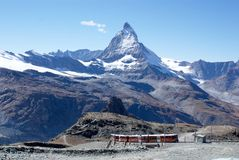Cervino Suiza foto de archivo libre de regalías