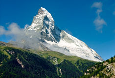 cervinomatterhorn monte Royaltyfri Foto