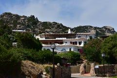 cervo波尔图撒丁岛 免版税库存照片