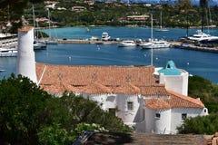 cervo波尔图撒丁岛 免版税库存图片