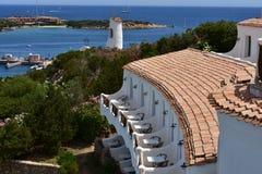 cervo波尔图撒丁岛 免版税图库摄影