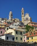 Cervo. View of the medieval village, Cervo, Ligurian, Italy Royalty Free Stock Photo