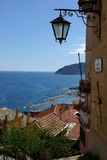 Cervo. View of the medieval village, Cervo, Ligurian, Italy Stock Image