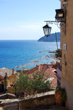 Cervo. A view from the medieval village of Cervo in Liguria, Italy Stock Photo