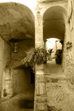 Cervo. Ancient alleys in the medieval village of Cervo in Liguria, Italy Stock Photo