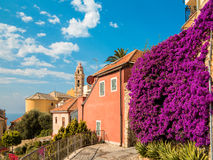 Cervo. Ancient medieval village in Liguria, Italy Royalty Free Stock Photo