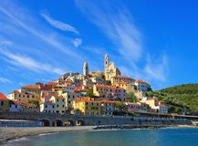 Cervo. Ancient town in Italy Royalty Free Stock Photo