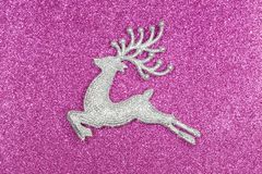 Cervo do Natal e do ano novo imagem de stock royalty free