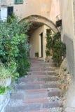Cervo ligure. A walk through the streets of Cervo Stock Image