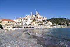 Cervo. Liguria-Italy royalty free stock photos