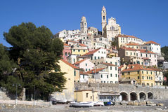 Cervo. Liguria-Italy Stock Image