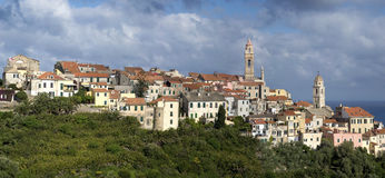 Cervo. Liguria-Italy stock photo