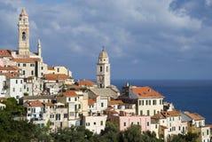 Cervo, Liguria-Italy royalty free stock photography