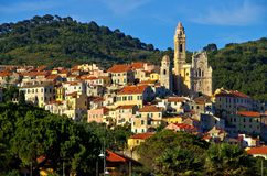 Cervo. An old village in Italy Royalty Free Stock Photo