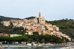 Cervo. Is a unique town in liguria, italy stock photo