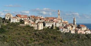 Cervo, vila medieval, Itália Foto de Stock