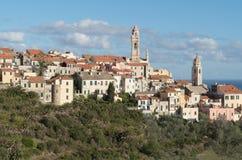 Cervo, vila medieval, Itália Imagens de Stock Royalty Free