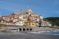 Cervo, vila medieval, Itália Fotografia de Stock Royalty Free