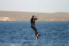 Cervo volante che pratica il surfing 5 immagini stock