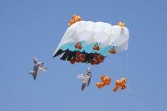 Cervo volante dei pesci di divertimento Fotografie Stock Libere da Diritti