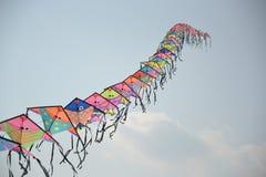 Cervo volante sulla spiaggia Fotografie Stock