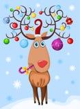 Cervos ilustração stock