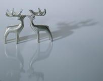 Cervos 3 do Natal Imagens de Stock