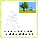 Cervos da coloração Imagem de Stock