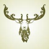 Cervos decorativos decorativos Fotografia de Stock Royalty Free
