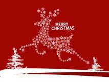 Cervos do Natal ilustração royalty free