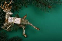 Cervos do Natal Foto de Stock Royalty Free