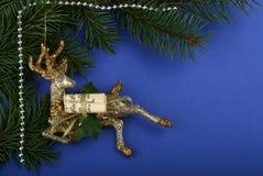 Cervos do Natal Fotos de Stock Royalty Free