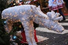 Cervos do Natal Imagem de Stock Royalty Free