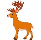 Cervos dos desenhos animados Foto de Stock Royalty Free